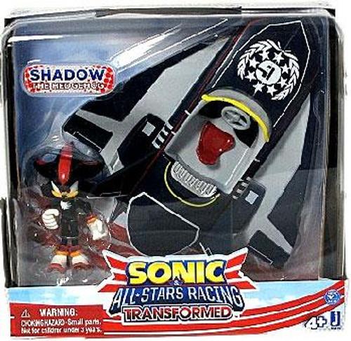 Sonic The Hedgehog Sega All-Stars Racing Transformed Shadow with Plane Figure Set