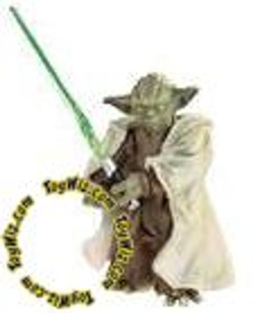 Star Wars Attack of the Clones Saga Legends 2007 30th Anniversary Yoda Action Figure #3