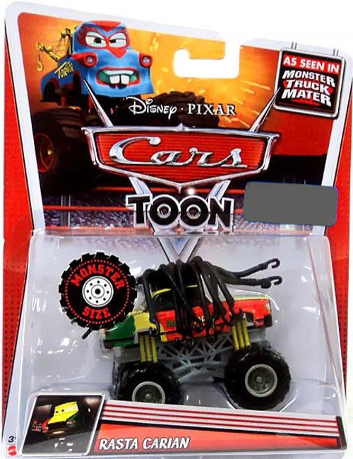 Disney Cars Cars Toon Deluxe Oversized Rasta Carian Exclusive Diecast Car