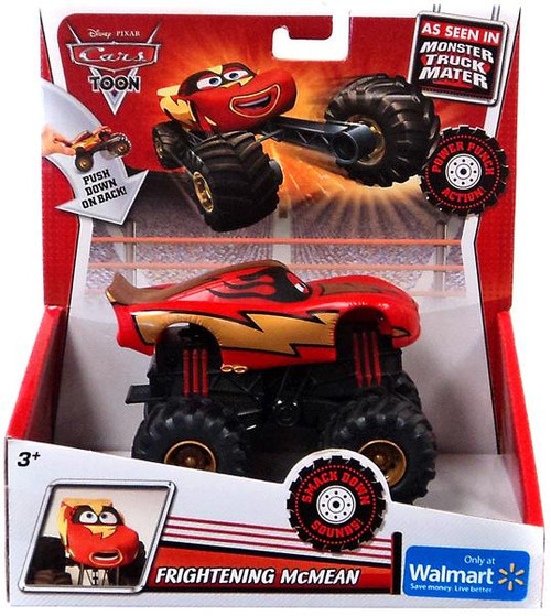 Disney Cars Cars Toon Monster Trucks Frightening McMean Exclusive Plastic Car