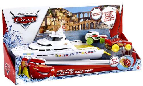 Disney Cars Playsets Porto Corsa Splash 'N' Race Boat Playset
