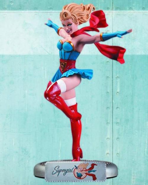 DC Bombshells Supergirl Statue