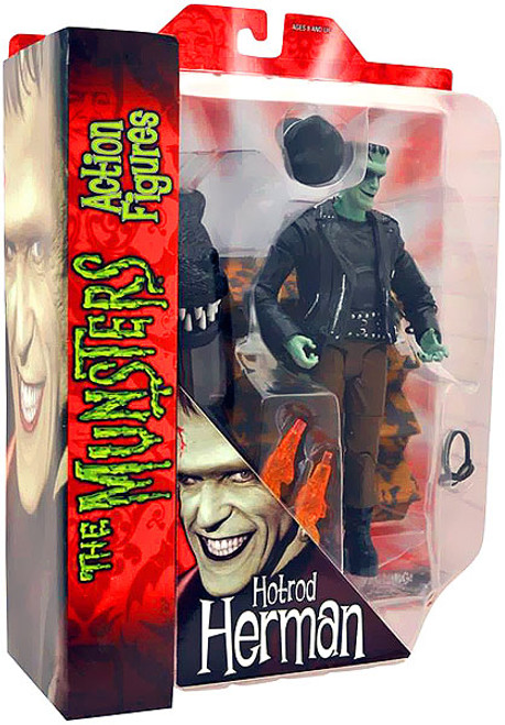 The Munsters Herman Munster Action Figure [Hot Rod]