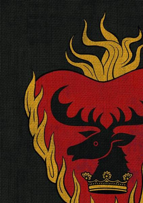 Game of Thrones The Card Game Stannis Baratheon Card Sleeves