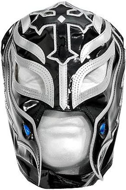 WWE Wrestling Costumes Rey Mysterio Replica Mask [Black & Silver]