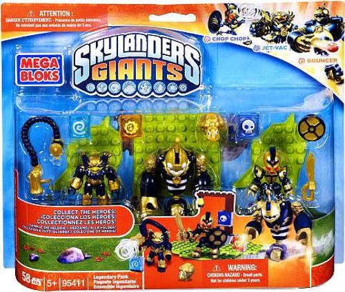 Mega Bloks Skylanders Giants Legendary Pack Set #95411