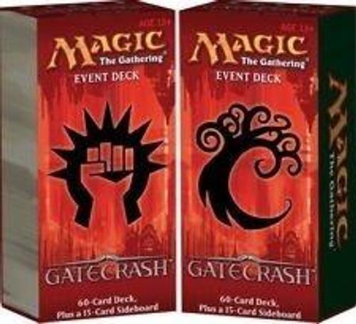 MtG Gatecrash Set of 2 Event Decks [Sealed Decks]