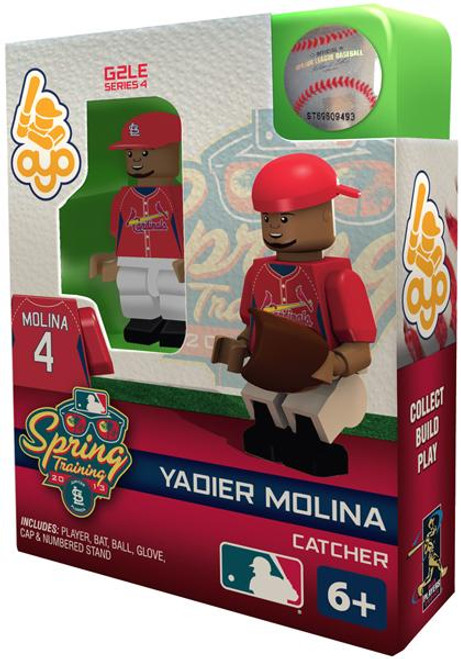 Saint Louis Cardinals MLB Generation 2 Series 4 Yadier Molina Minifigure [Spring Training]