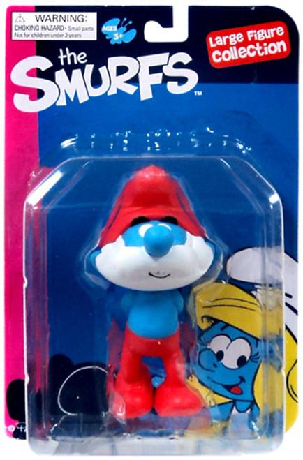 The Smurfs Papa Smurf Action Figure