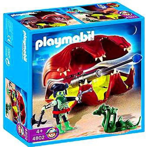 Playmobil Pirates Shell with Cannon Set #4802
