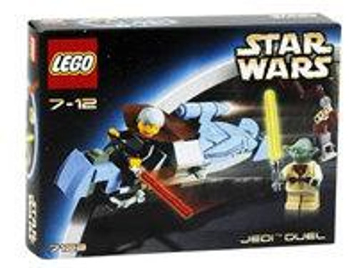 LEGO Star Wars The Clone Wars Jedi Duel Set #7103 [Damaged Package]