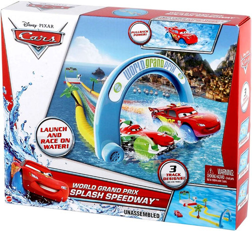 Disney Cars Playsets World Grand Prix Splash Speedway Playset
