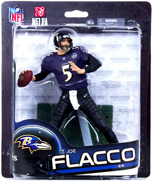 McFarlane Toys NFL Baltimore Ravens Sports Picks Series 33 Joe Flacco Action Figure