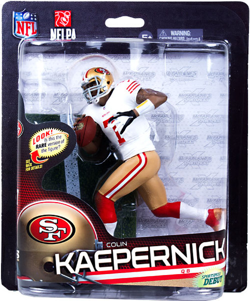McFarlane Toys NFL San Francisco 49ers Sports Picks Series 33 Colin Kaepernick Action Figure [White Jersey]