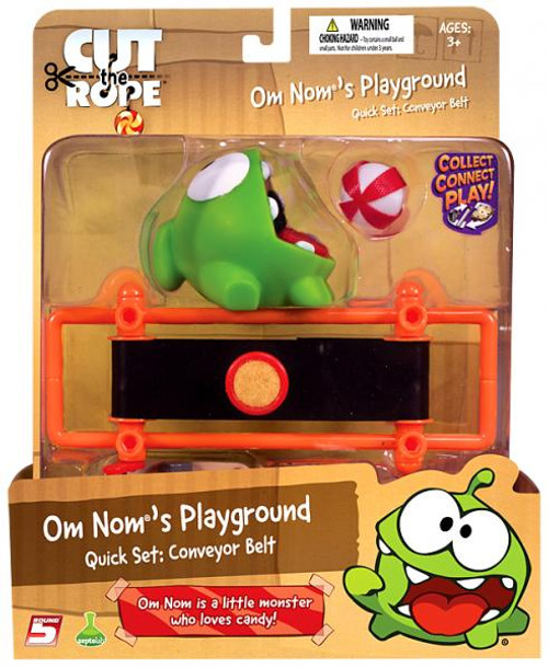 Cut the Rope Om Nom's Playground Conveyer Belt Quick Set