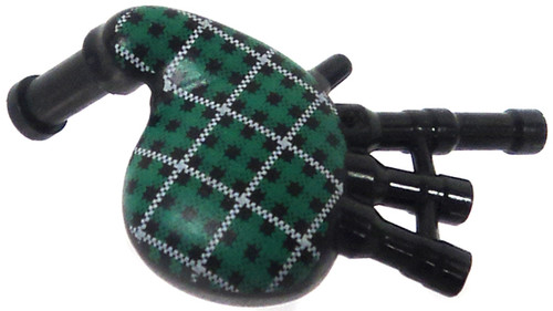 LEGO Items Green Plaid Bagpipes [Loose]