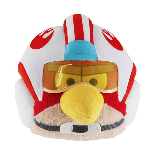 Star Wars Angry Birds Luke Skywalker Bird 5-Inch Plush [X-Wing Pilot]