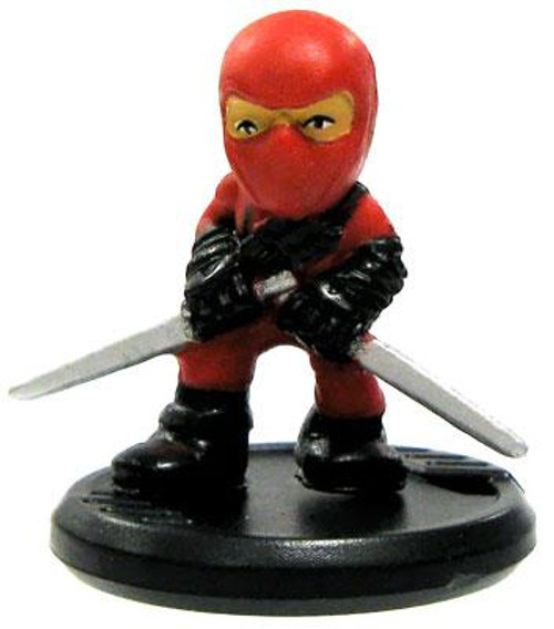 GI Joe Micro Force Series 1 Red Ninja S1-23 [Twin Swords]
