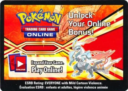 Online Code Card Promo Code Card for Pokemon TCG Online [White Kyurem Tin]
