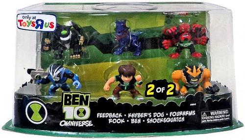 Omniverse Ben 10 Exclusive 2-Inch Mini Figure 6-Pack [2 of 2]