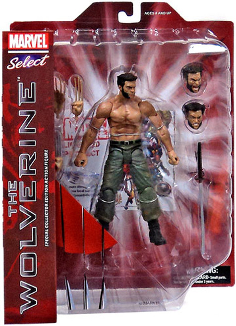 The Wolverine Marvel Select Wolverine Action Figure [The Wolverine Movie]