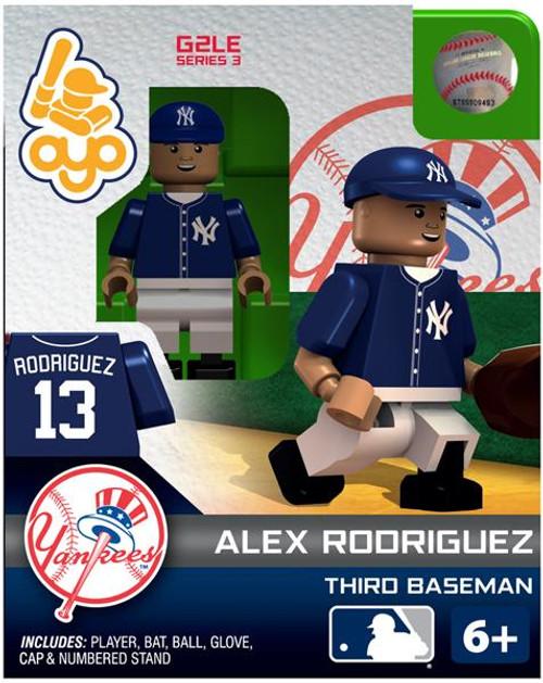 New York Yankees MLB Generation 2 Series 3 Alex Rodriguez Minifigure