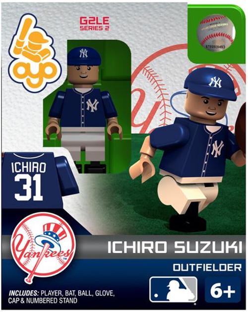 New York Yankees MLB Generation 2 Series 2 Ichiro Suzuki Minifigure