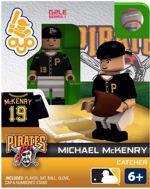 Pittsburgh Pirates MLB Generation 2 Series 1 Michael McKenry Minifigure