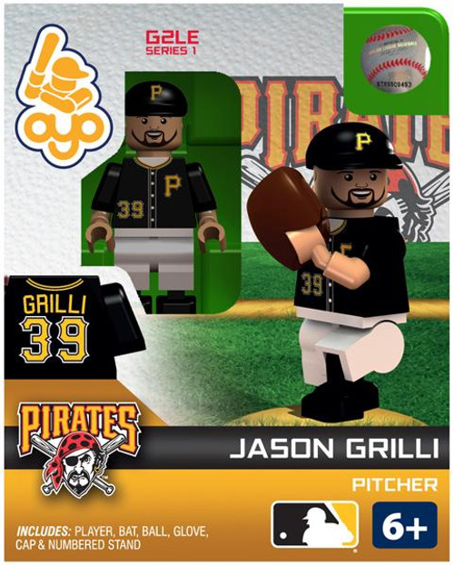 Pittsburgh Pirates MLB Generation 2 Series 1 Jason Grilli Minifigure