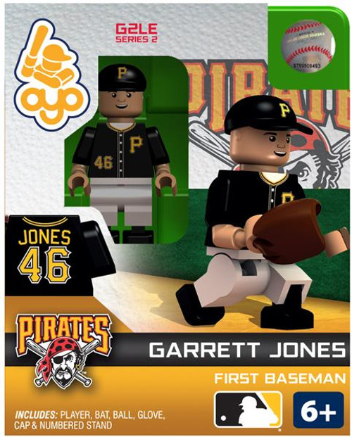 Pittsburgh Pirates MLB Generation 2 Series 2 Garrett Jones Minifigure