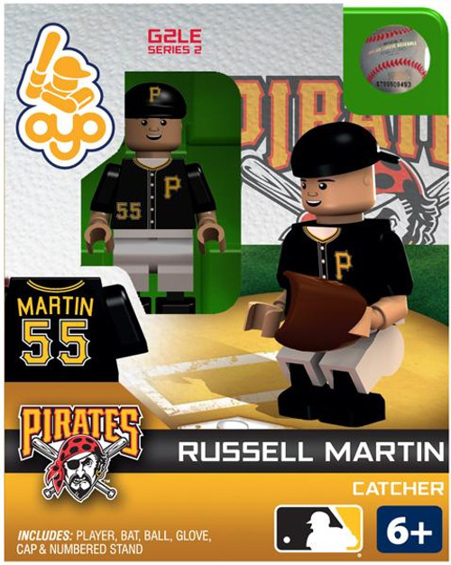 Pittsburgh Pirates MLB Generation 2 Series 2 Russell Martin Minifigure