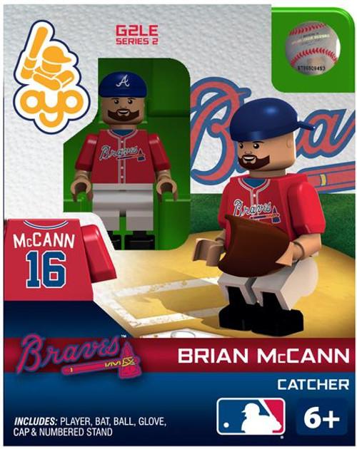 Atlanta Braves MLB Generation 2 Series 2 Brian McCann Minifigure
