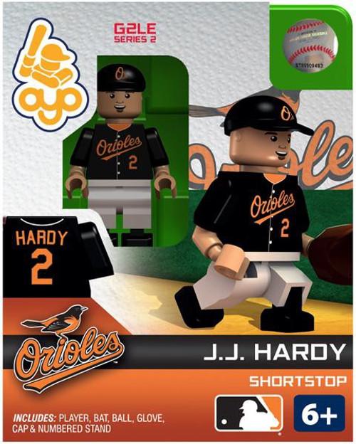 Baltimore Orioles MLB Generation 2 Series 2 J.J. Hardy Minifigure
