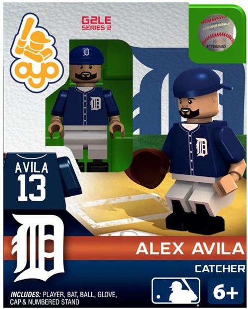 Detroit Tigers MLB Generation 2 Series 2 Alex Avila Minifigure