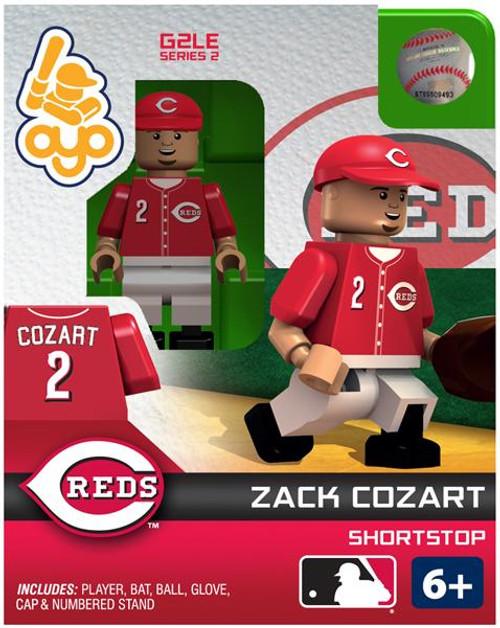 Cincinnati Reds MLB Generation 2 Series 2 Zack Cozart Minifigure