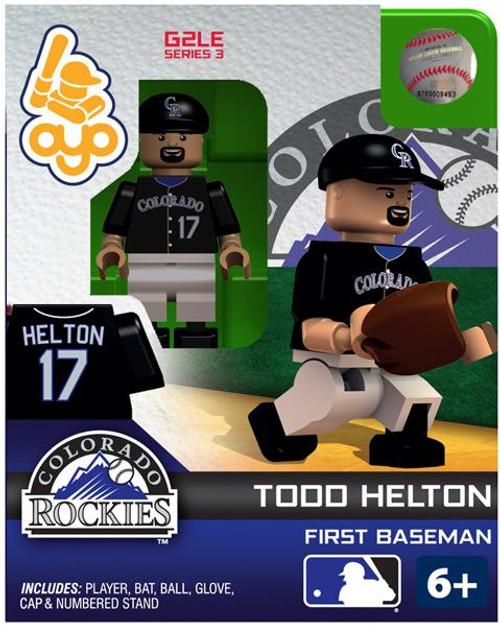 Colorado Rockies MLB Generation 2 Series 3 Todd Helton Minifigure