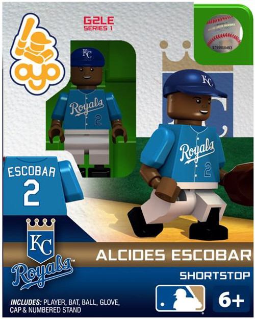 Kansas City Royals MLB Generation 2 Series 1 Alcides Escobar Minifigure