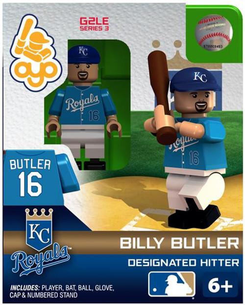 Kansas City Royals MLB Generation 2 Series 3 Billy Butler Minifigure