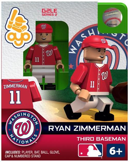 Washington Nationals MLB Generation 2 Series 2 Ryan Zimmerman Minifigure