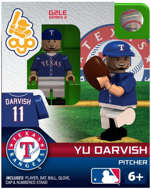 Texas Rangers MLB Generation 2 Series 2 Yu Darvish Minifigure
