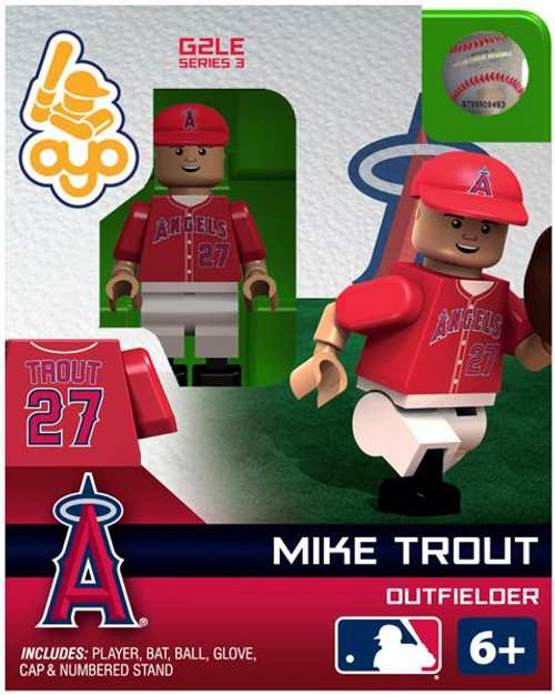 Los Angeles Angels MLB Generation 2 Series 3 Mike Trout Minifigure