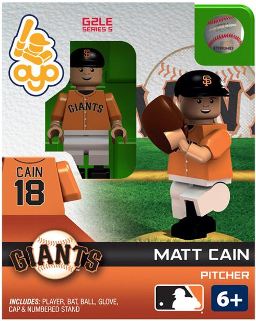 San Francisco Giants MLB Generation 2 Series 5 Matt Cain Minifigure