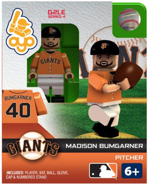 San Francisco Giants MLB Generation 2 Series 4 Madison Bumgarner Minifigure