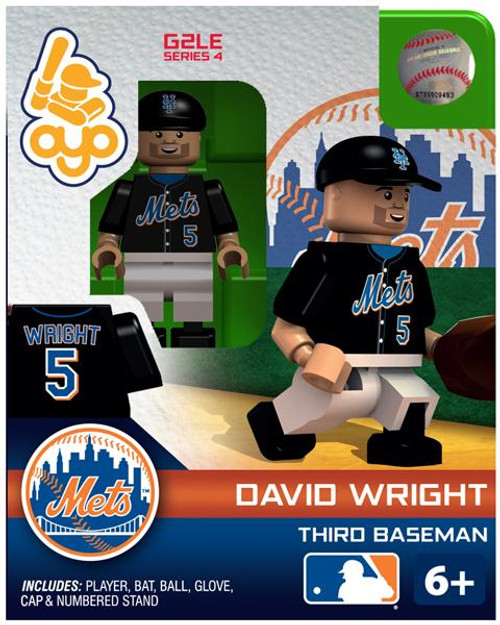 New York Mets MLB Generation 2 Series 4 David Wright Minifigure