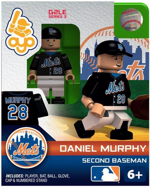 New York Mets MLB Generation 2 Series 3 Daniel Murphy Minifigure