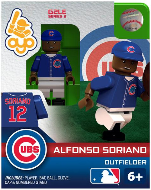 Chicago Cubs MLB Generation 2 Series 2 Alfonso Soriano Minifigure