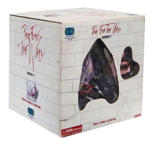 Pink Floyd The Wall Pink & Female Scorpion Vinyl Figure Set