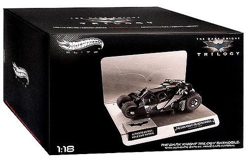 Batman The Dark Knight Hot Wheels Elite Batmobile Diecast Vehicle [Tumbler]