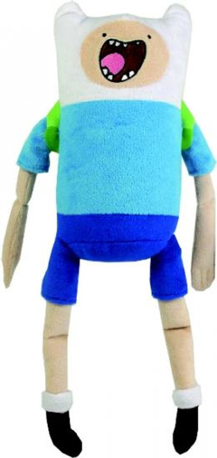 Adventure Time Finn 12-Inch Plush [Pullstring with Sound]