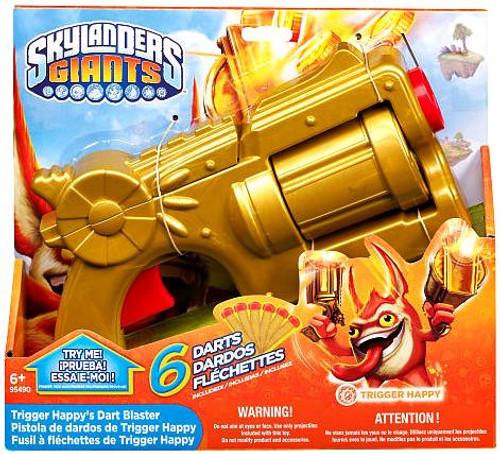 Skylanders Giants Trigger Happy's Dart Blaster